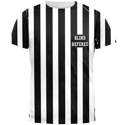 Halloween Football Blind Referee Costume All Over Mens T Shirt](Blind Referee Costume)