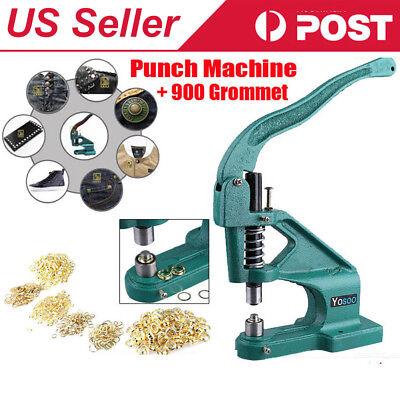 Hand Press Punch Machine For Press Studs Eyeletsgrommet Rivets Snap Popper