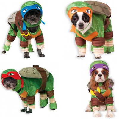Teenage Mutant Ninja Turtles Pet Costume TMNT Leonardo Raphael Donatello - Teenage Mutant Ninja Turtle Kostüm Hunde