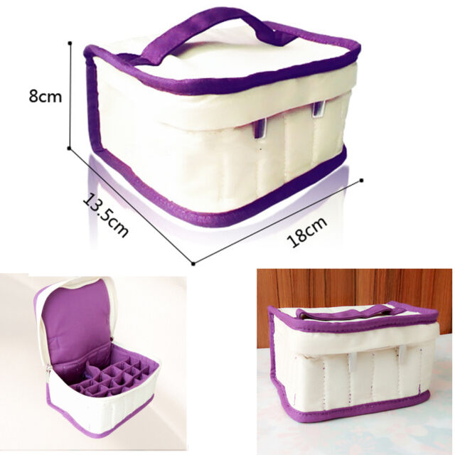 26 bottles Essential Oil Carrying Portable Holder Case Bag Oils 5/10/15ml XW