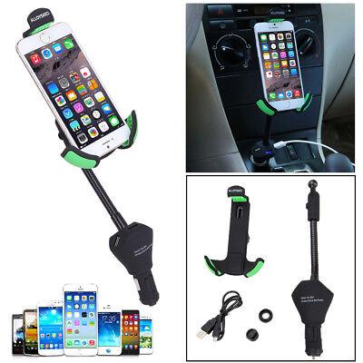 ALLOYSEED 3 Port USB Cigarette Lighter Socket Charger Car Mount Holder for Phone Lighter Socket Mount