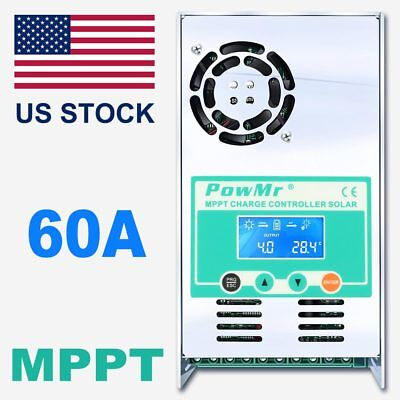 Used, 60A MPPT Solar Charge Controller For 12V 24V 36V 48V DC Acid And Lithium Battery for sale  Shipping to South Africa