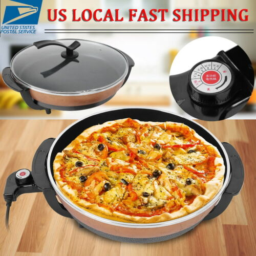 Electric Grill Pizza Pan Multifunctional Hot Pot Home Kitche