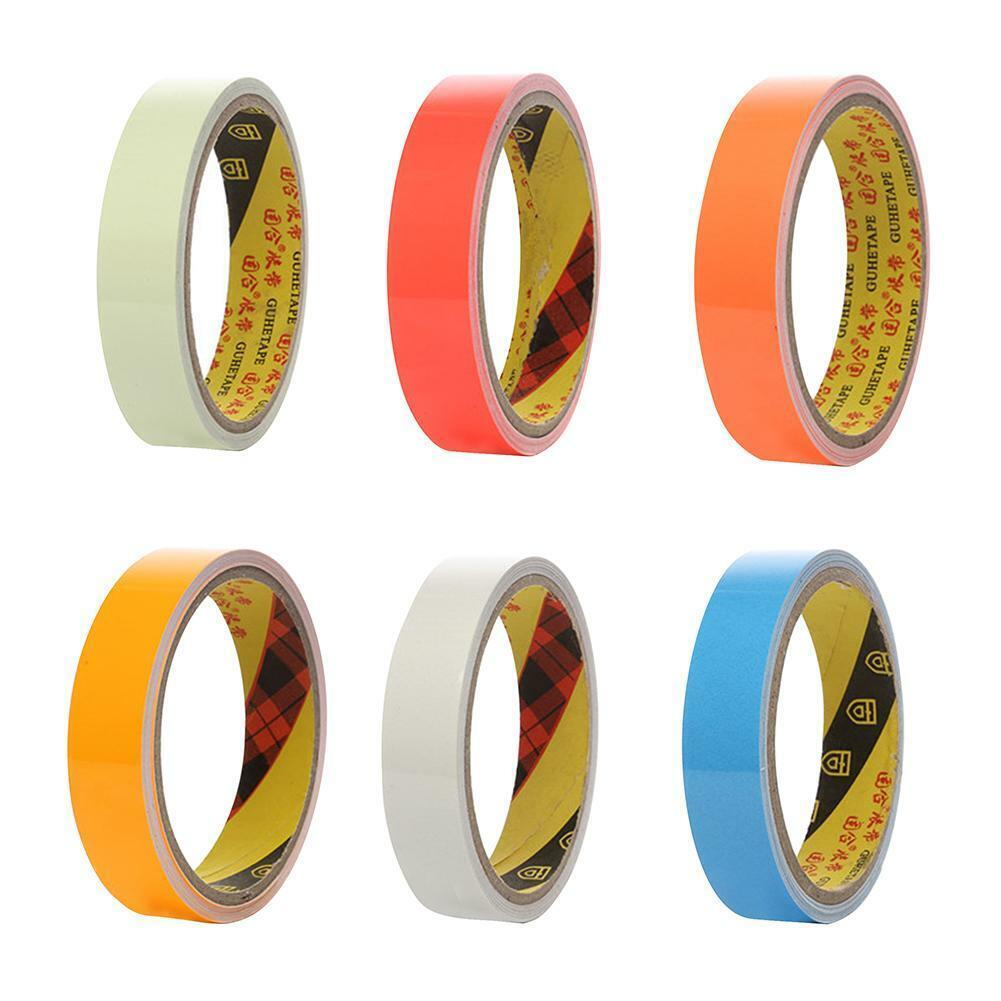 20mmx3m Reflective Glow Tape Self-adhesive Sticker Fluoresce