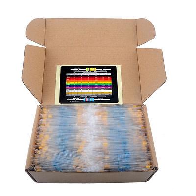 2600pcs 130 Values 14w 1 Precision Metal Film Resistor Kit Resistance Set
