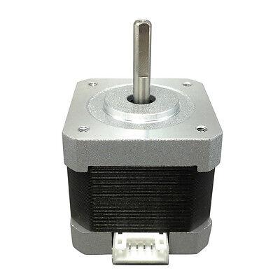 Nema 17 Stepper Motor Dual Shaft For 5mm Cnc Prusa Rostock Reprap 3d Printer
