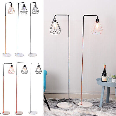 153 cm Tall Floor Lamp Industria Standard Light Iron Lampshade Vintage Lighting