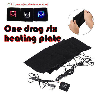 8W USB Electric Clothes Heater Sheet Adjustable Winter Heating Pad Warmer Grand