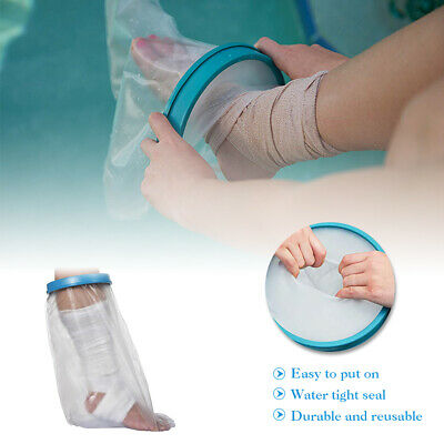 Reusable Foot Ankle Cast Cover Waterproof Bandage Injury Wound Leg Arm Protector Arm Cast Protector