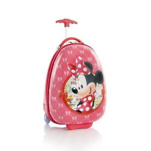 Heys Disney Minnie Mouse Kids Deluxe 18 inch Luggage Carry on Approved