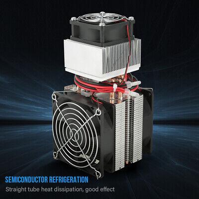 110-240v Peltier Refrigeration Semiconductor Cooling System Kit Cooler Us Plug S