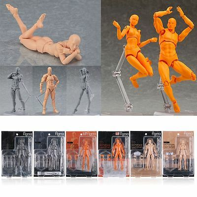 Figma Archetype Next He   She Body Model Drawing 15Th Anniversary Action Figure