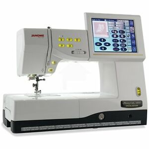 Janome 11000 sewing machines sergers ebay for Janome memory craft 350e manual