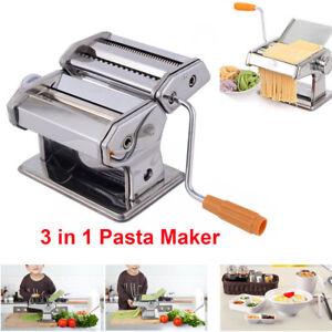 Professional Grade Pasta Maker Machine Pastry Roller Spaghetti Tagliatelle Maker