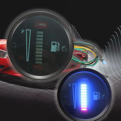 12V DC 52mm LED Display For Car Motorcycle Level Sensor Replacement Fuel Gauge