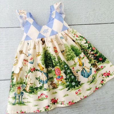 Toddlers Tutu Dress (Toddler Kids Baby Girls Cartoon Floral Dress Princess Party Pageant Tutu)