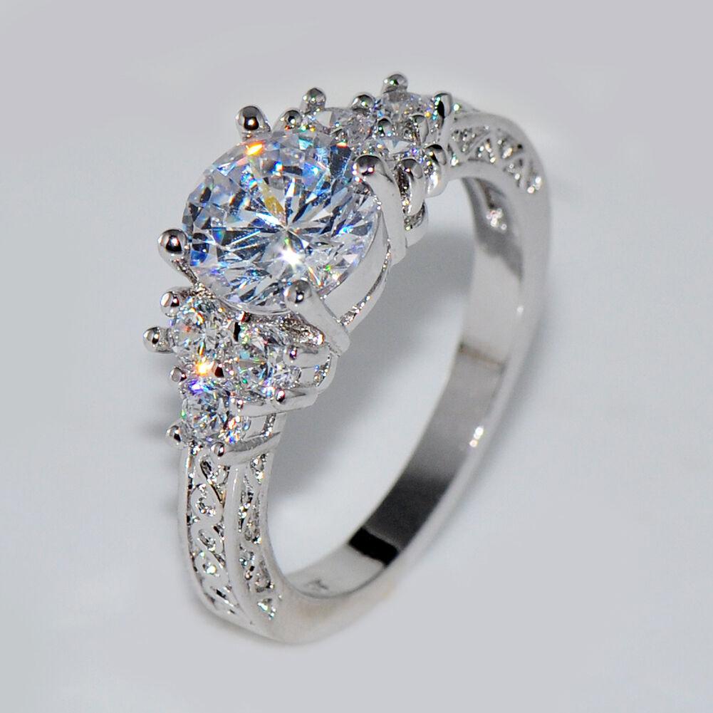 Sapphire And Diamond Ring Ebay Uk