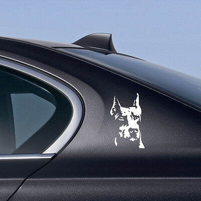 Car Guard Dog Reflective Pet Lover Doberman Sticker For Body/Door/Window/Fenders