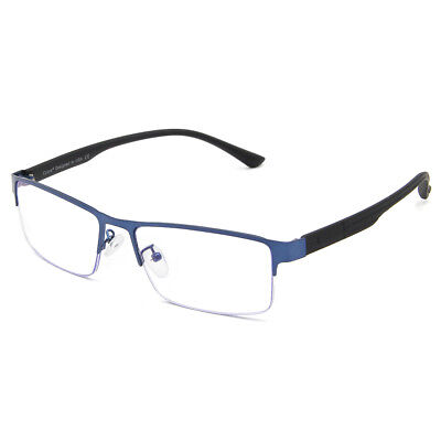 Cyxus Metal Frame Business Blue Light Blocking Glasses for Reduce (Frame For Spectacles)