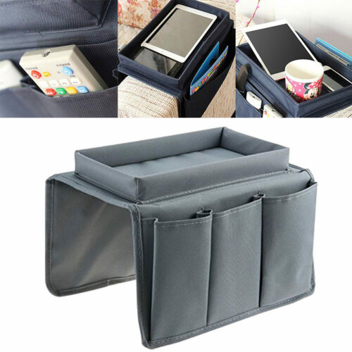 Couch Sofa Recliner Chair Arm Rest Organizer Pocket Caddy Tr