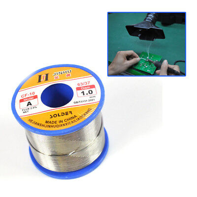 Hq 400g 1mm 6040 Tin Lead Solder Rosin Flux Wire Roll Soldering Us