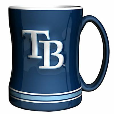 Rays Mug - Tampa Bay Rays Mug Sculpted Relief Coffee Mug 14oz