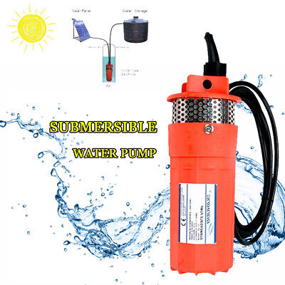 DC 12V Farm & Ranch Solar Powered Deep Well Submersible Water Pump Free Delivery
