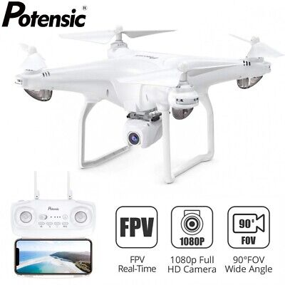 Potensic D58 Drone 5G WiFi FPV HD 1080P Camera GPS RC Quadcopter Drones Undefiled