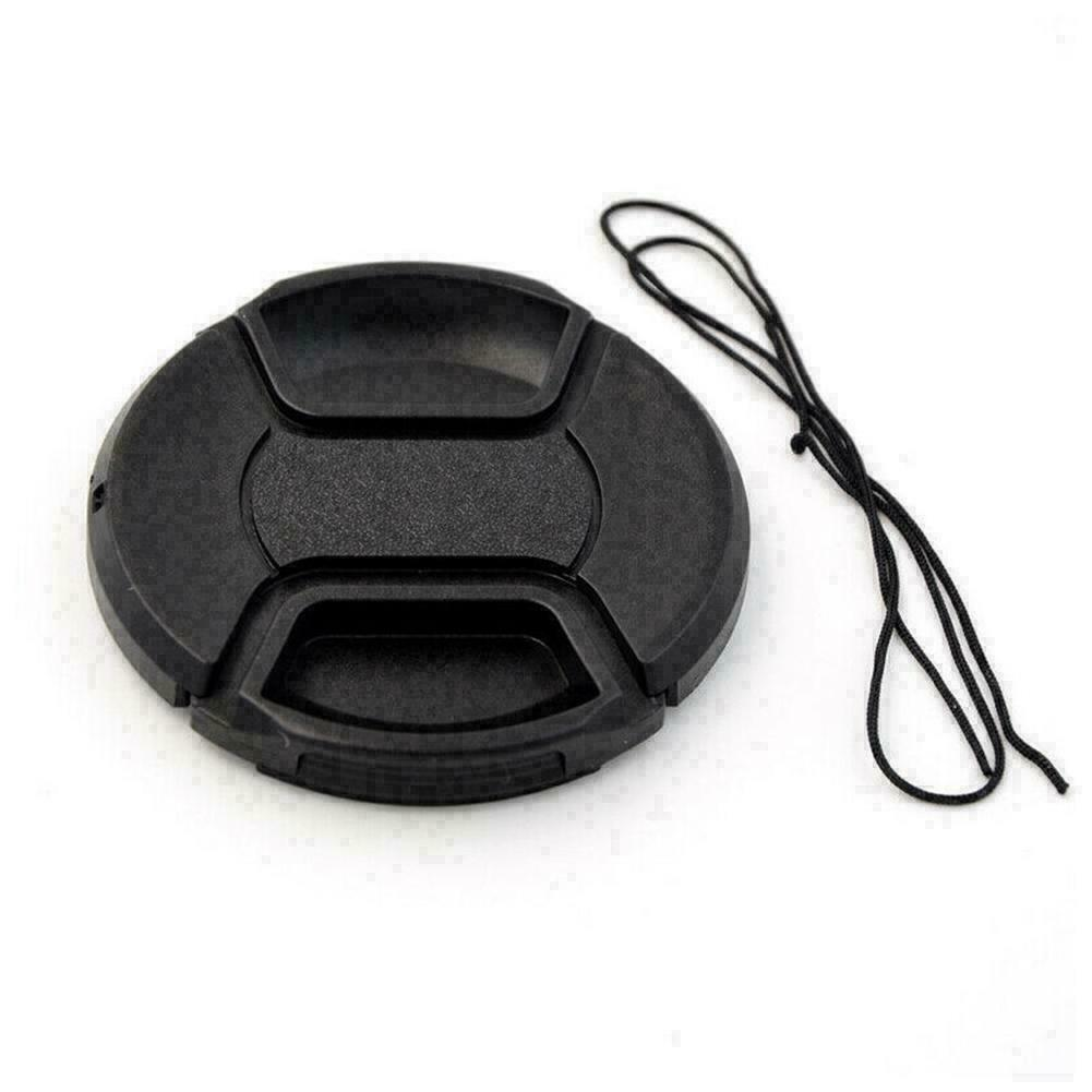 58mm Front Lens Cap Hood Cover Snap-on For Nikon Tokina O8E9 Sigma Y8H0 F1Q6 - $6.72