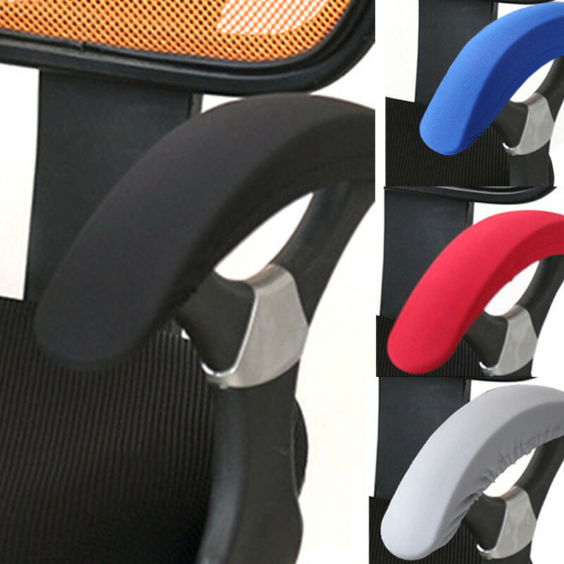 2pcs Removable Chair Armrest Covers Elastic Protector