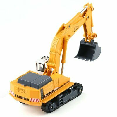 KDW 1:87 HO Scale Diecast Excavator Construction Equipment Model Toy Gift US