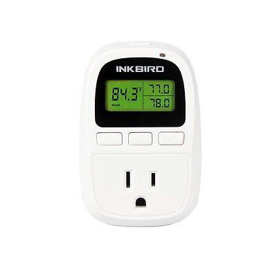 Inkbird C206t Digital Temperature Controller Thermostat Fahrenheit Timer 15a Us