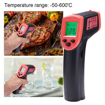 Infrared Thermometer Lcd Laser Temperature Gun Ir Temp Meter Non-contact Charm