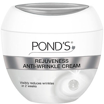 Ponds Rejuveness Anti Wrinkle Cream Firm Skin Visible Reduce Lines Renew 1 75Oz