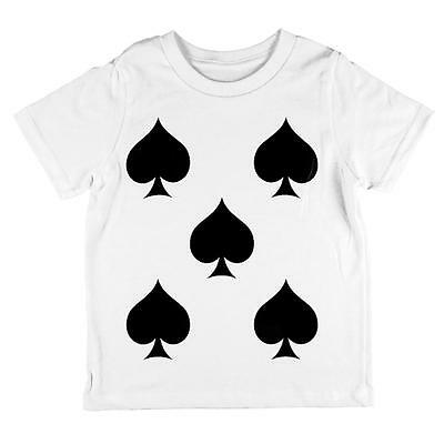Halloween Five of Spades Card Soldier Costume All Over Toddler T Shirt](Halloween Five)