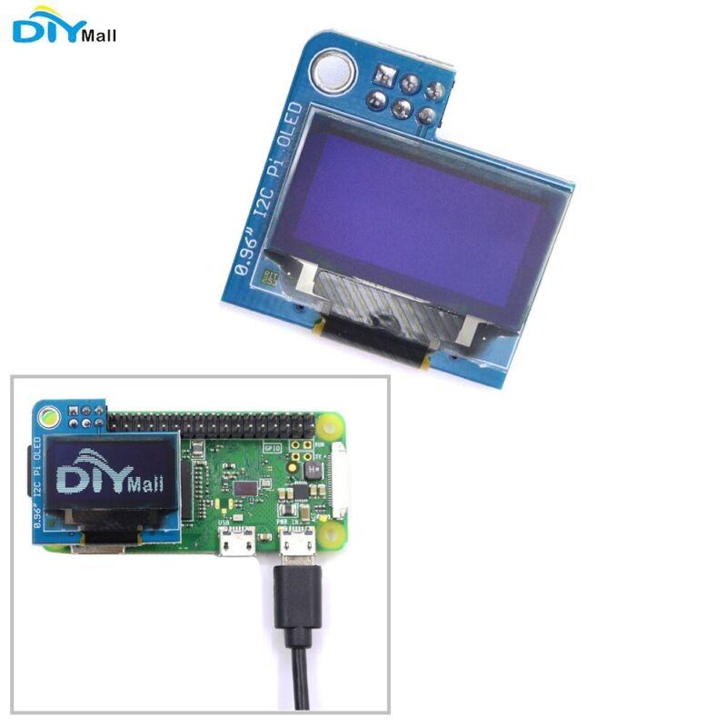 PiOLED monochrome 128x64 0.96inch OLED Display Module White for Raspberry Pi