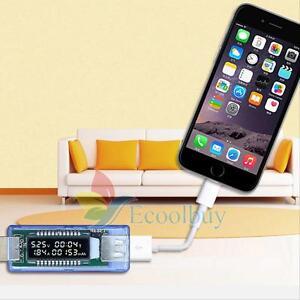 USB Charger Doctor Voltage Current Meter Mobile Battery Tester Power Detector UK