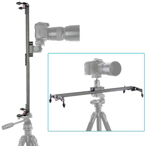 "Neewer Pro 32"" Video Slider Linear Stabilizer DSLR Camera Track Slider Rail"