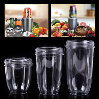3Pcs 18/24/32 OZ Cup Replacement For All NutriBullet Juicer Model 900W Spare UK
