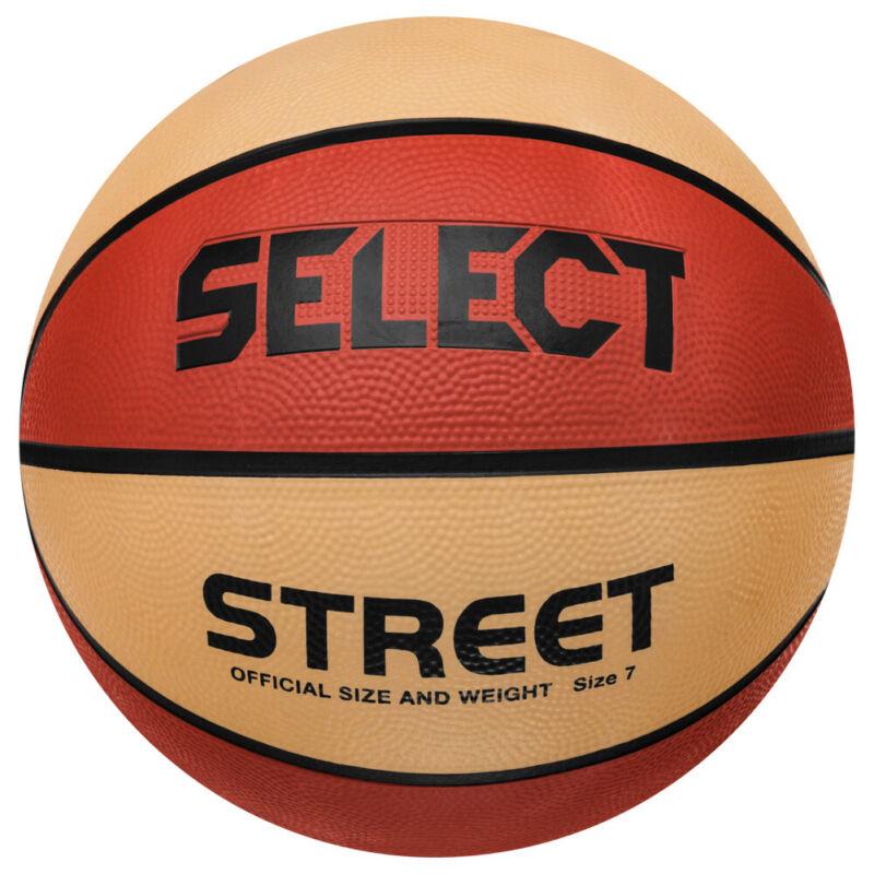Select Street Basketball Spiel Sport Trainings Ball 20577001880 Gr. 7 orange neu