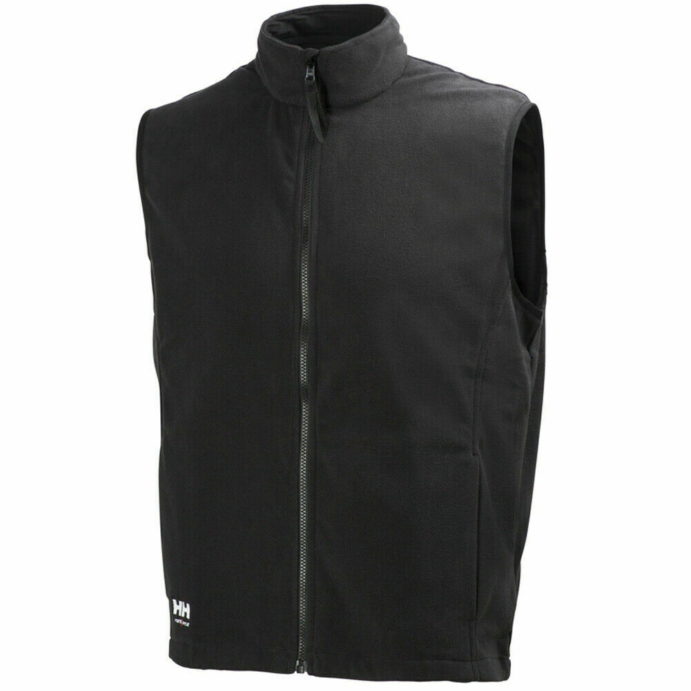 72167 durham fleece vest black