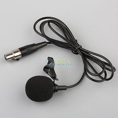 Mini Lavalier Microphone (US Lavalier Lapel Tie-clip Microphone for Shure Wireless Mini 4 PIN)