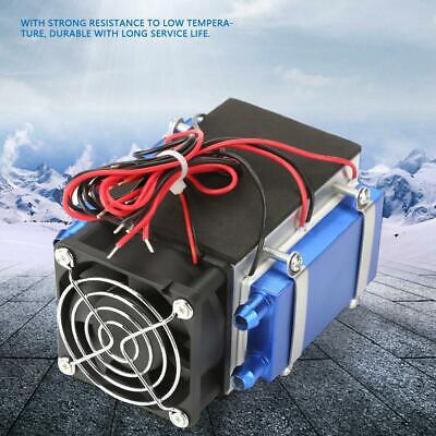 4-Chip Semiconductor Refrigeration Machine Cooler Radiators Air Cooling Device