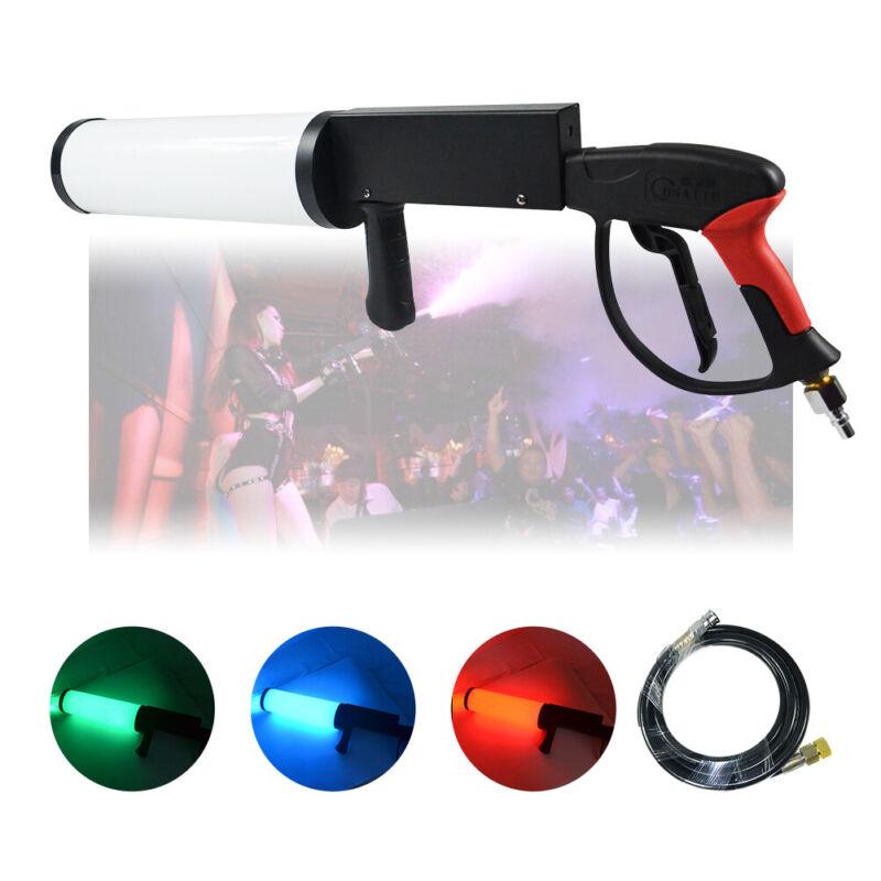 Party LED Cannon CO2 Gun Night Club Bar, DJ Jet Effect Fogger ,Smoke Gun