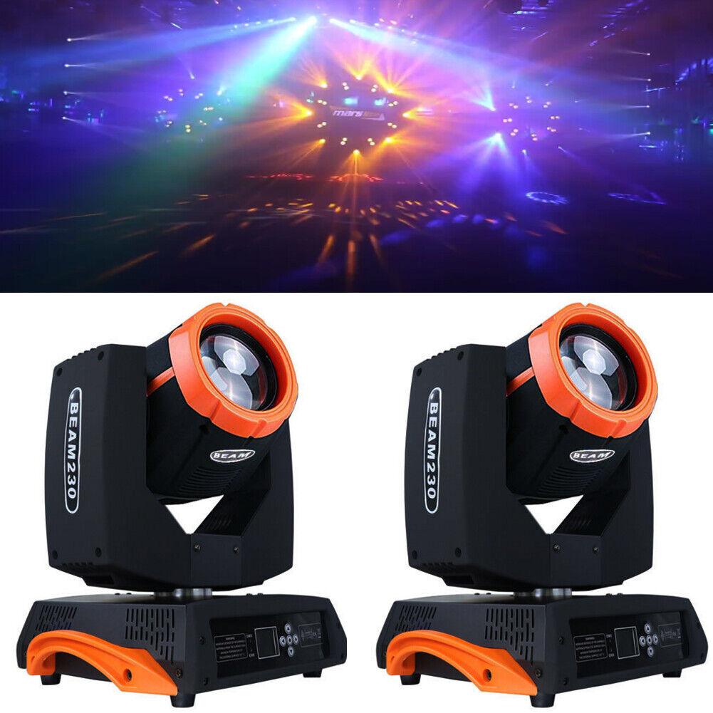 230w 7R Moving Head Stage Light 16 Prism DMX16ch Beam Zoom DJ Party Show 2PCS - $594.99