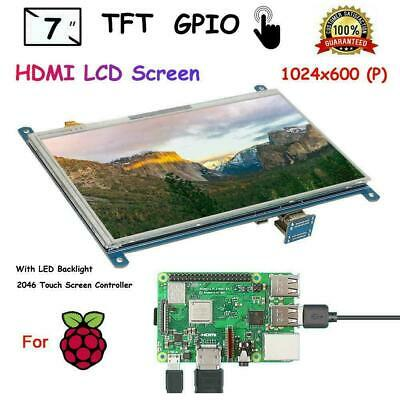 7-inch 1024 X 600 Resistive Touch Screen Lcd Tft Display For Raspberry Pi 4b