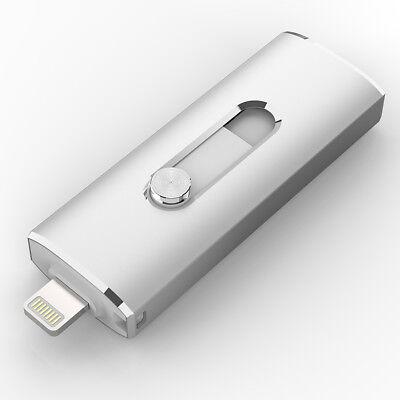 Iphone Usb-stick (32GB i Flash Drive USB 3.0 Stick für iPhone X 5 6 7 iPad Air Touch Lightning)