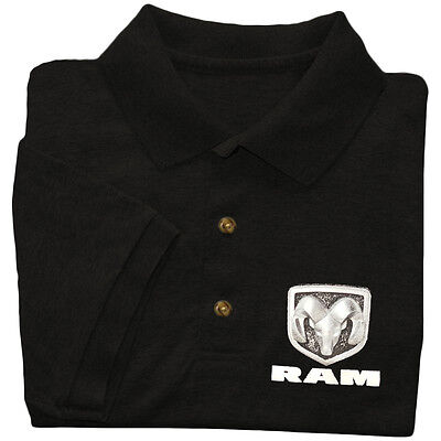 Dodge Ram polo golf shirt men's collared button up tee dress shirt dodge hemi