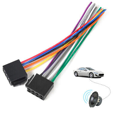 Universal Female ISO Wiring Harness Car Stereo Adapter Connector Radio Wire Plug