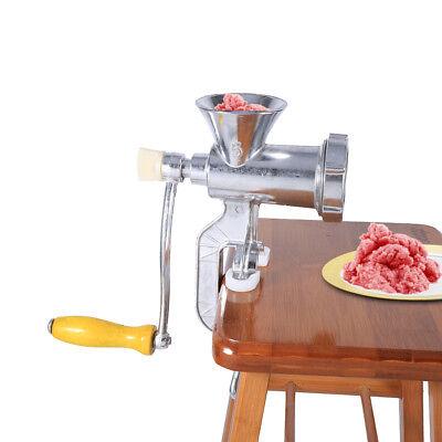 Manuell Fleischwolf Zerkleinerer Fleich Hackfleisch Wurstmaschine Handkurbel SA (Fleisch Fleischwolf Maschine)